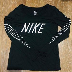 Nike Dryfit Long-sleeved Tee